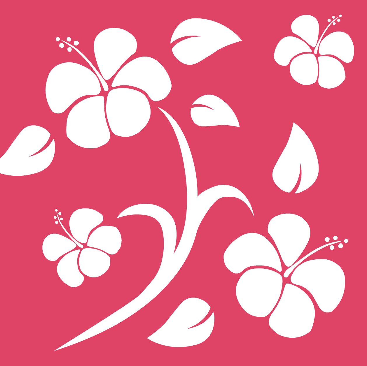 Flowers For Cool Hawaiian Background