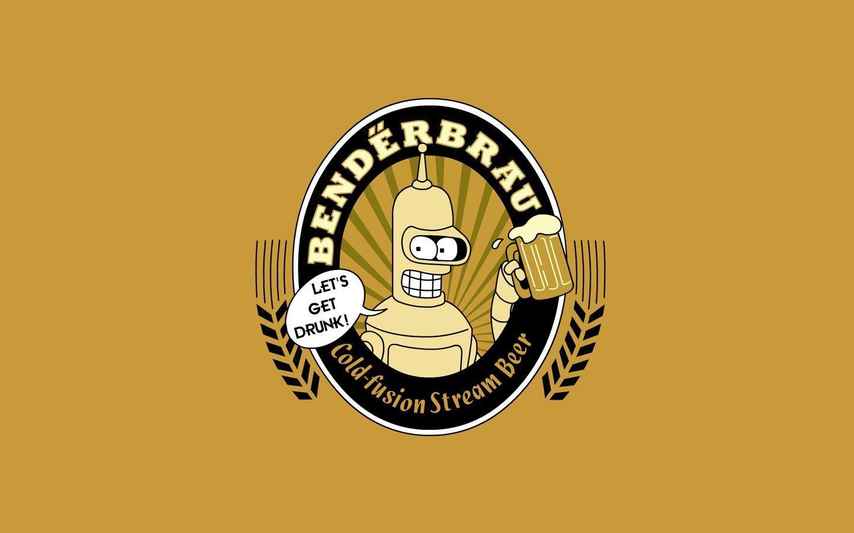 Bro Code Beer Hd Wallpaper: Futurama Backgrounds