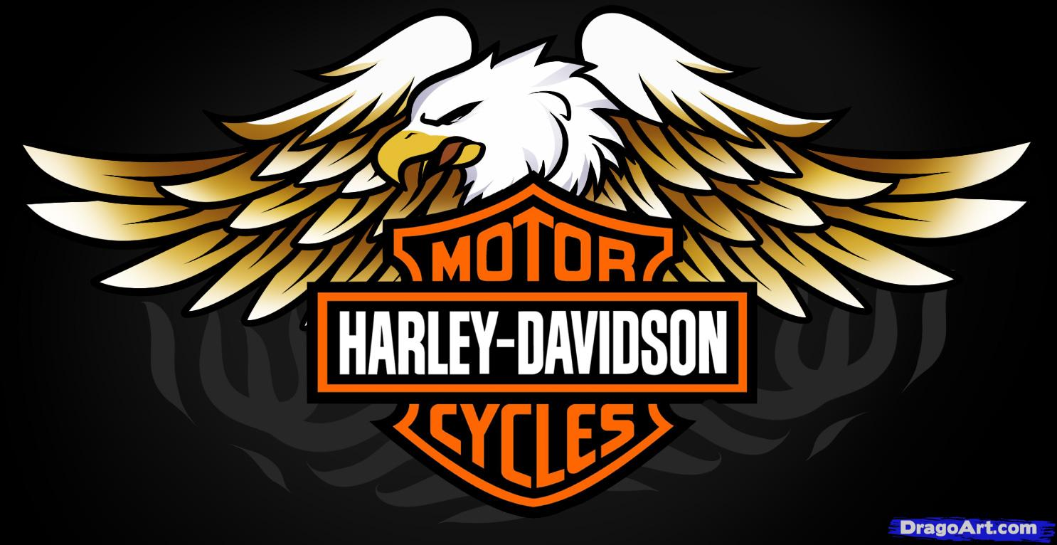 newest harley davidson logo wallpapers - photo #16