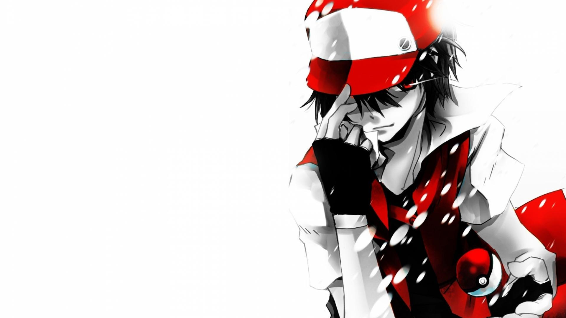 Download Red Pokemon Ash Wallpaper 1920x1080 | Full HD Wallpapers