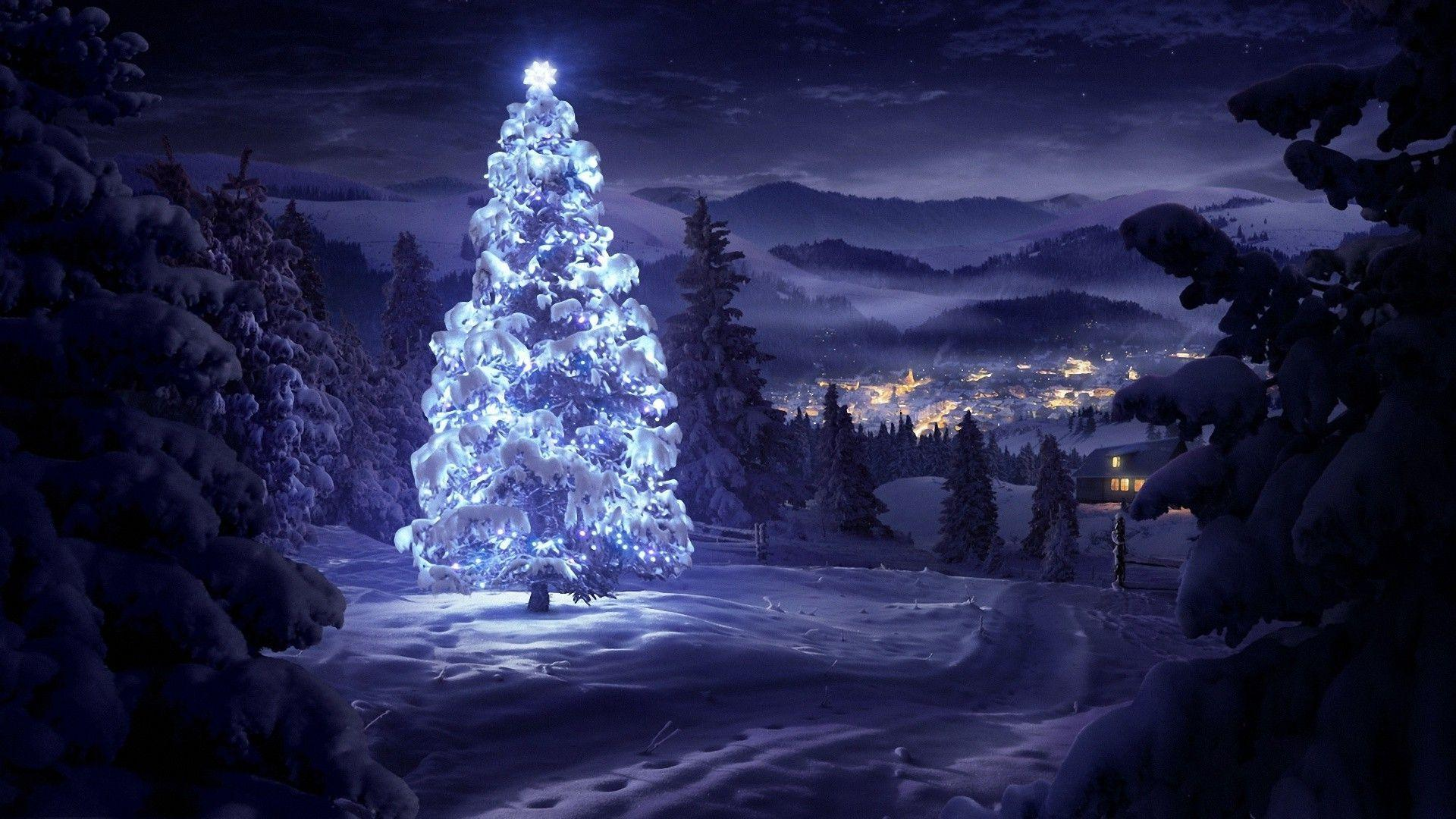 Snow Christmas Wallpaper 42737 HD Wallpapers
