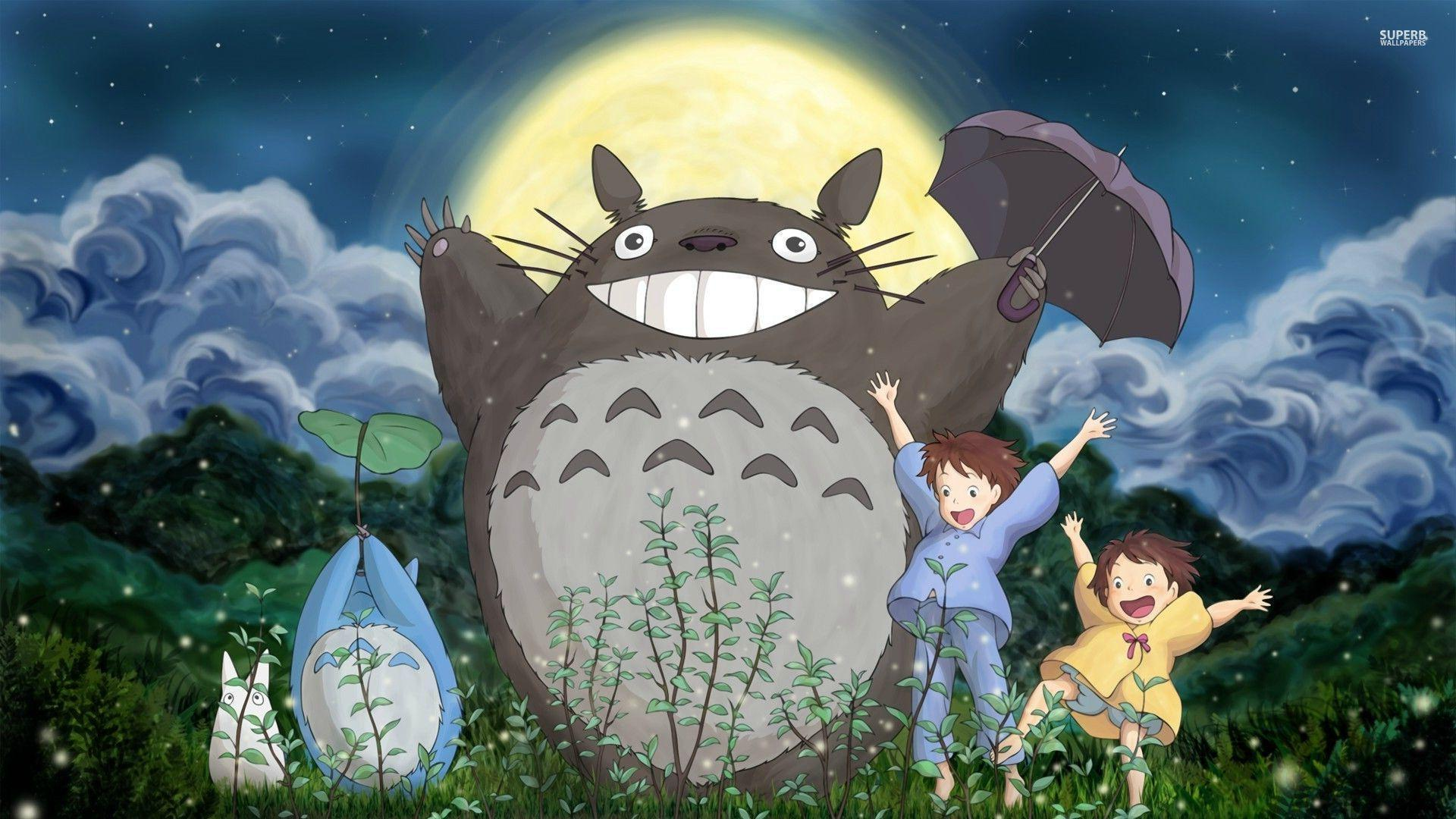Totoro Wallpapers HD - Wallpaper Cave
