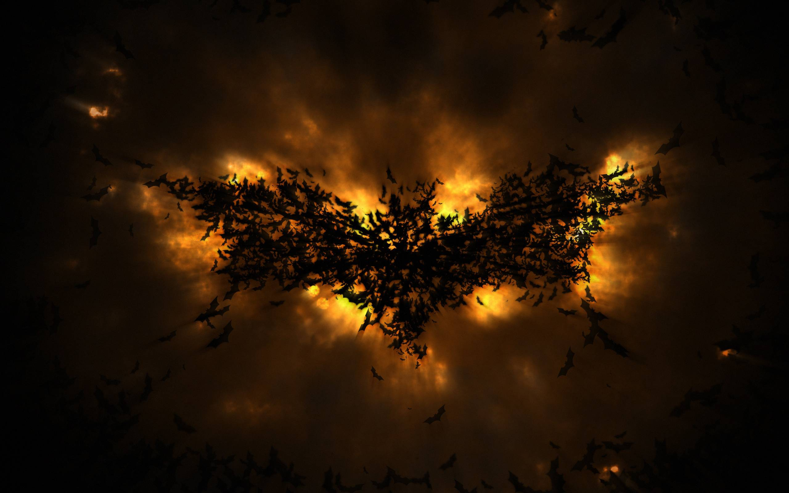 The Dark Knight Rises Batman Movie Abstract Logo Wallpapers