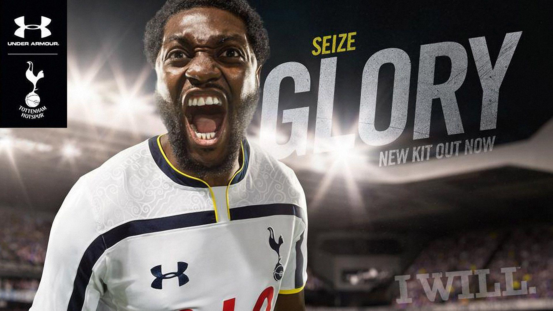 Tottenham Hotspur Under Armour 2014-15 Home Kit Wallpaper Wide or ...