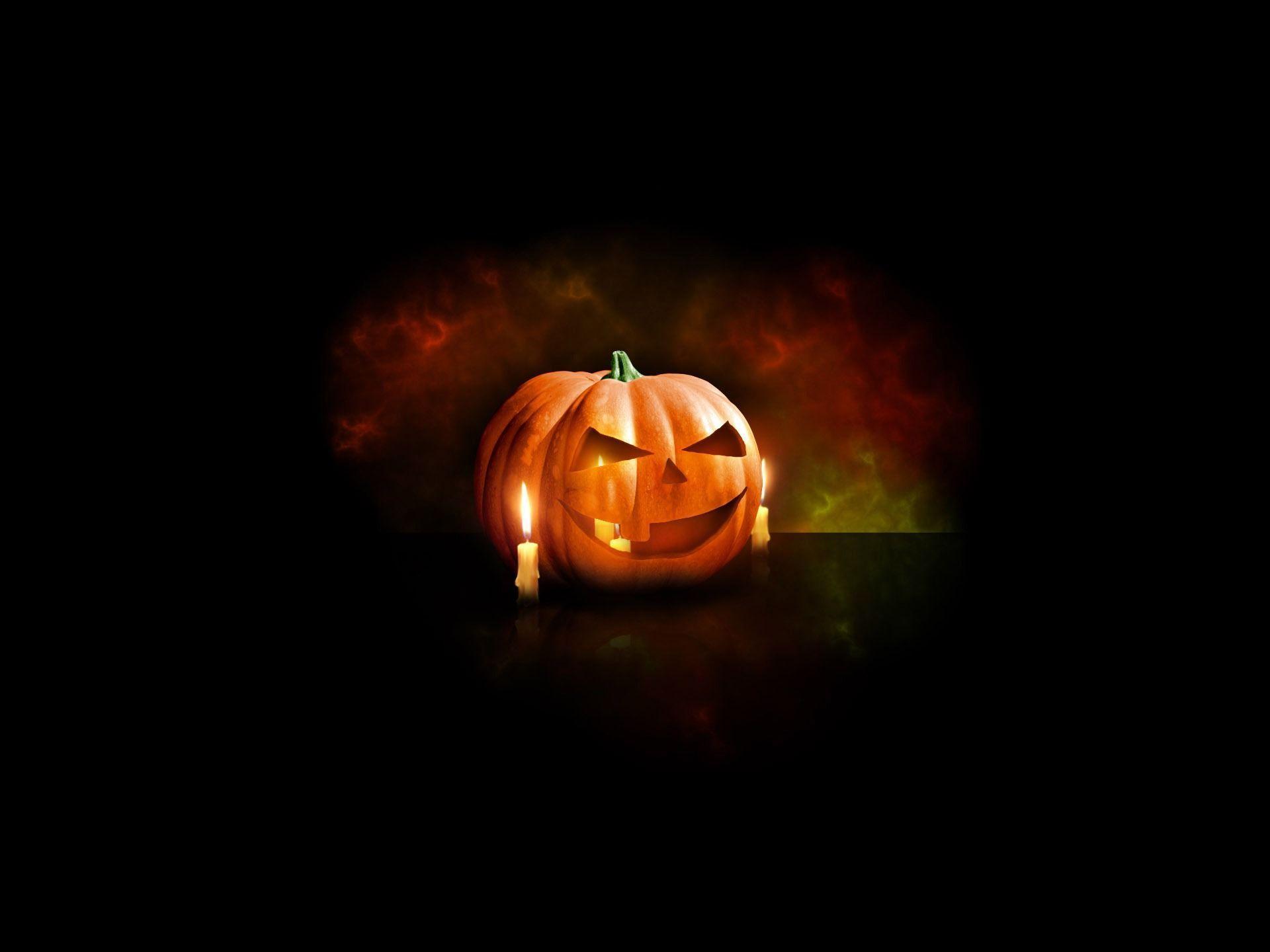 free scary halloween desktop wallpaper