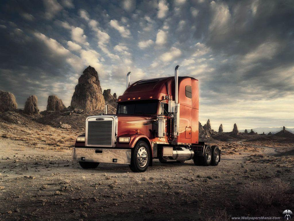 semi truck wallpapers wallpaper cave. Black Bedroom Furniture Sets. Home Design Ideas