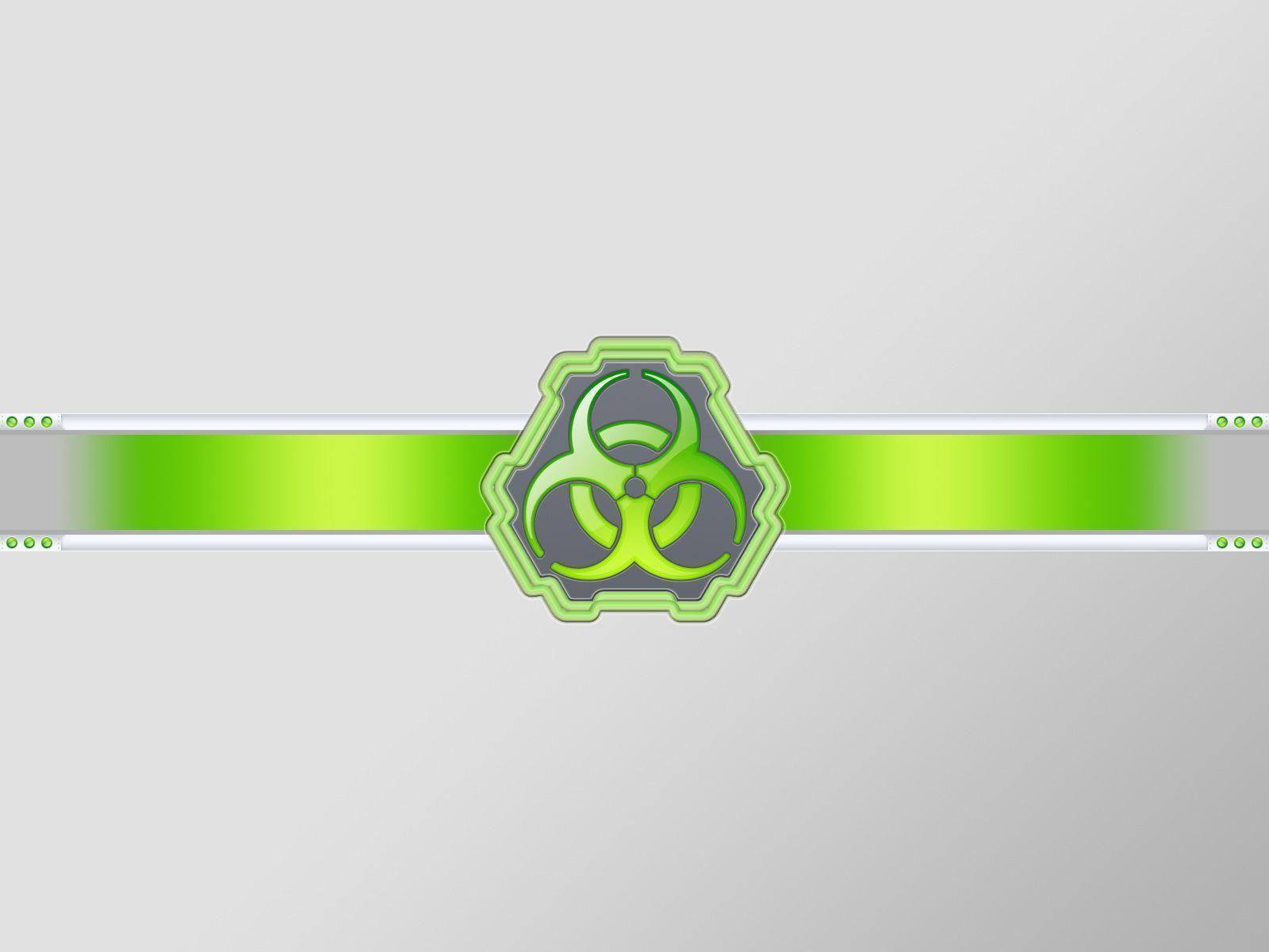 Images For > Radioactive Symbol Green