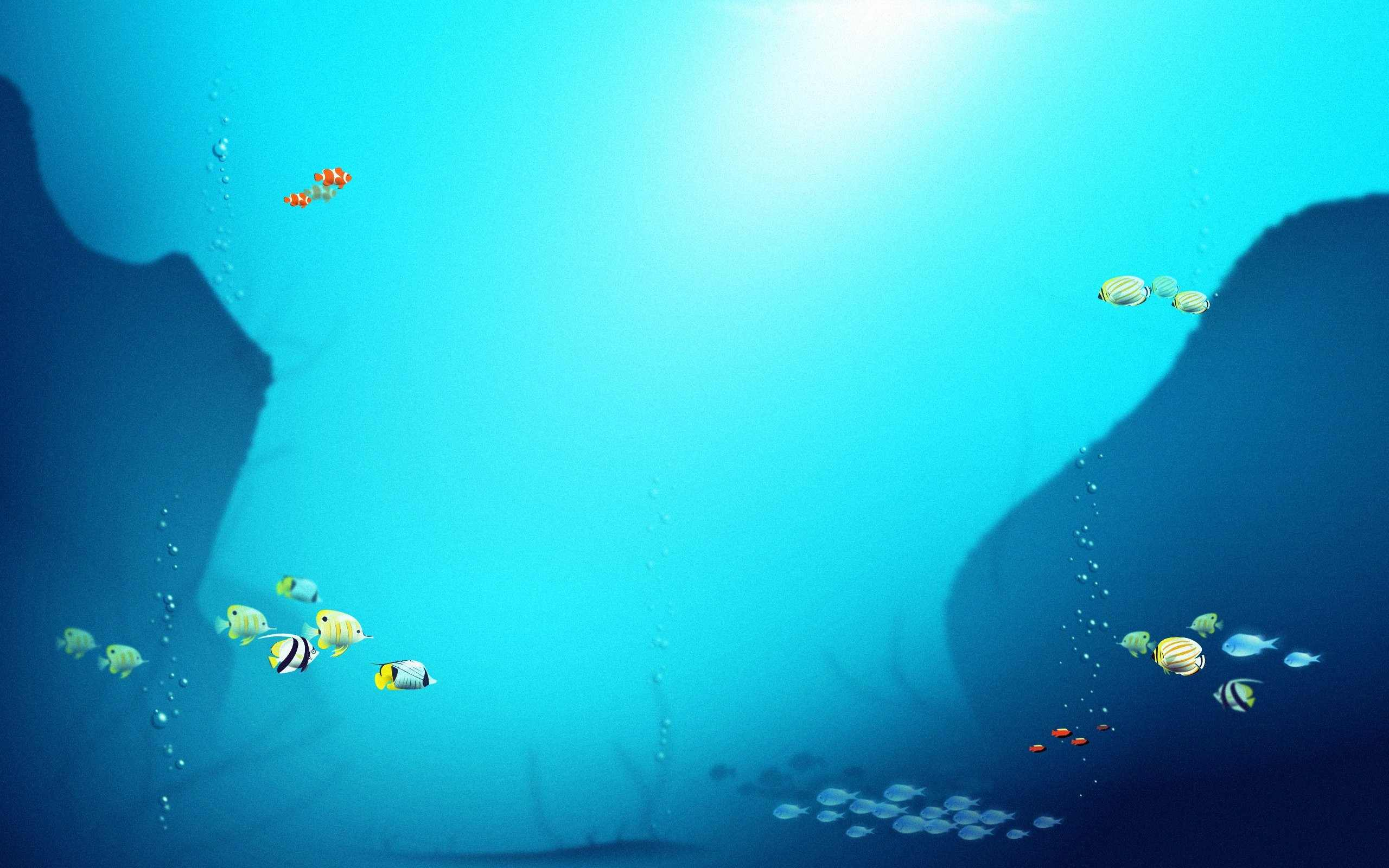 under the sea fish wallpapers - photo #20