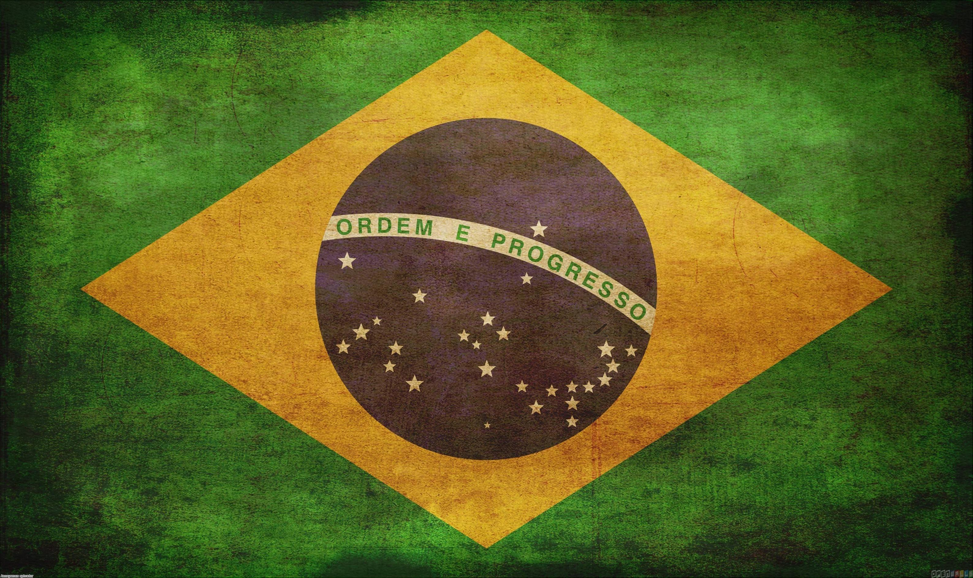 Brazil Flag Wallpapers Wallpaper Cave