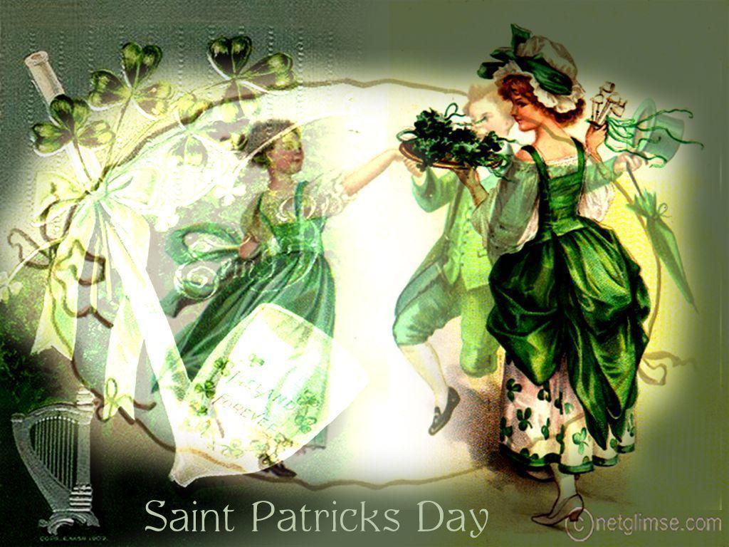 St. Patrick&Day Vintage Card