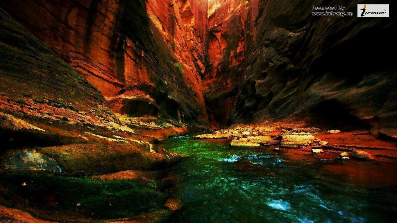 beautiful scenery backgrounds wallpaper cave