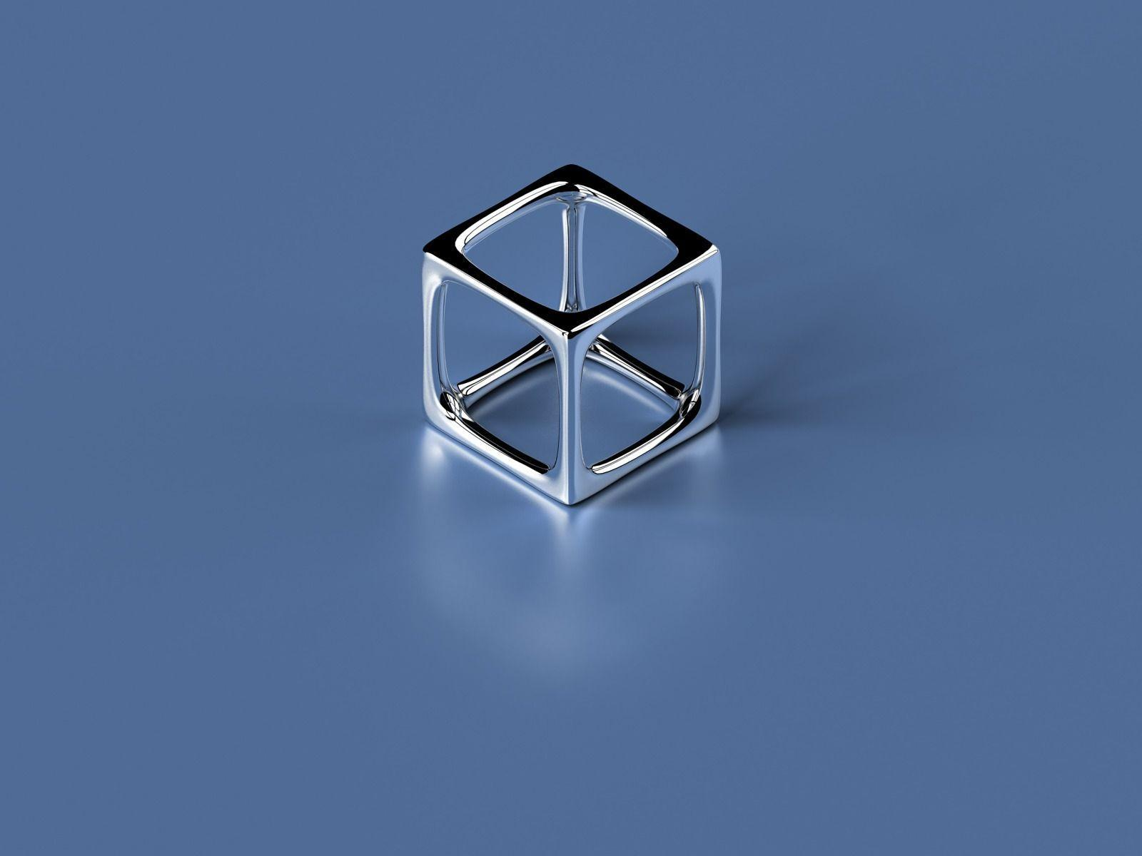 Simple 3D Cube Wallpapers Abstract 3D