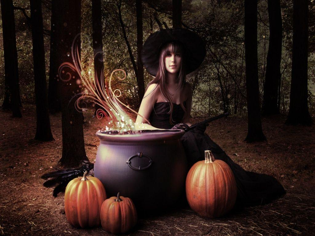 animated halloween wallpaper witches - photo #8