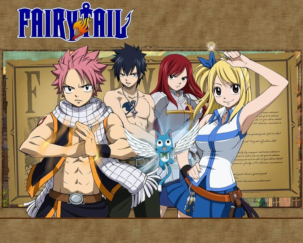 Fairy tail wallpapers daily anime art