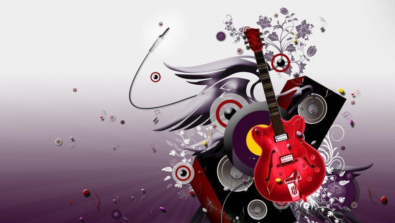 Image For > Electric Guitars Wallpapers