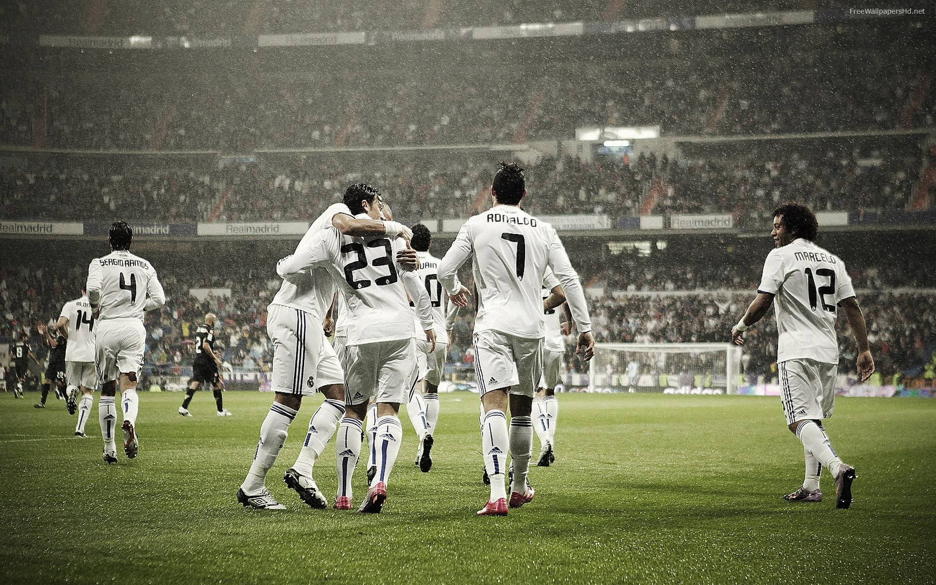 Real Madrid Team Wallpaper Logo Picture #9663 Wallpaper | High ...