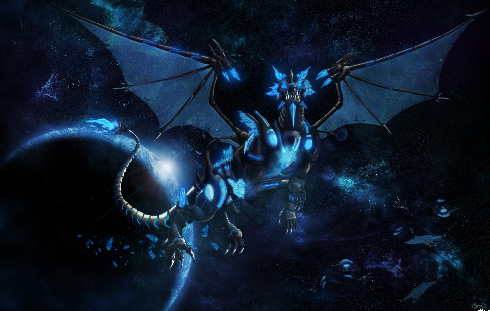 Blue Dragon Wallpapers  Wallpaper Cave
