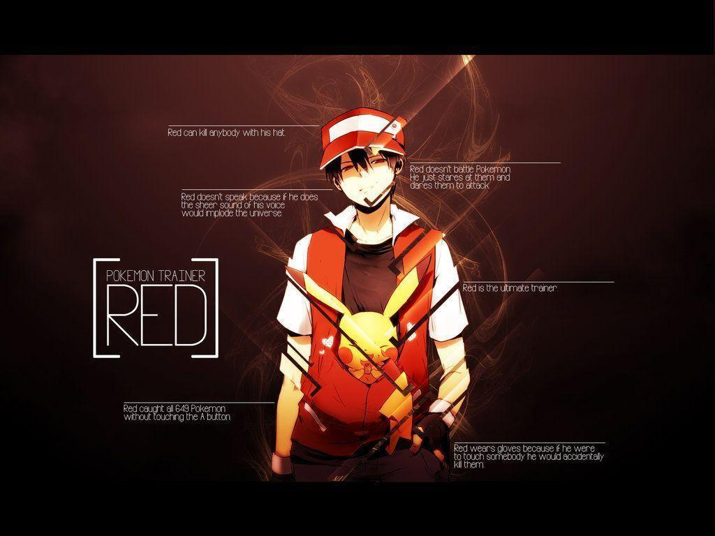 Image For > Pokemon Trainer Red Vs Blue Wallpapers