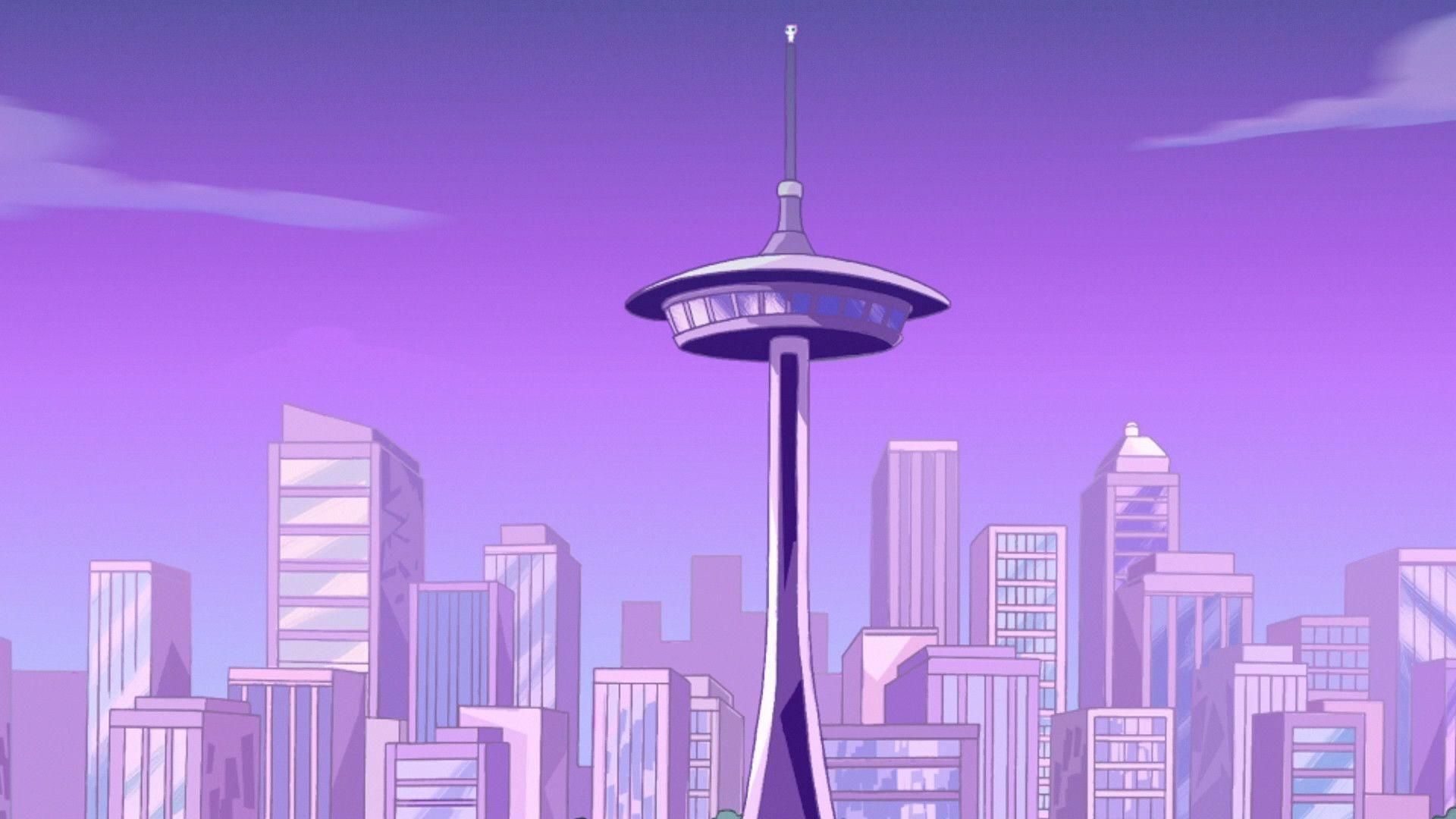 Image - 327 - The Space Needle.jpg - Phineas and Ferb Wiki - Your ...