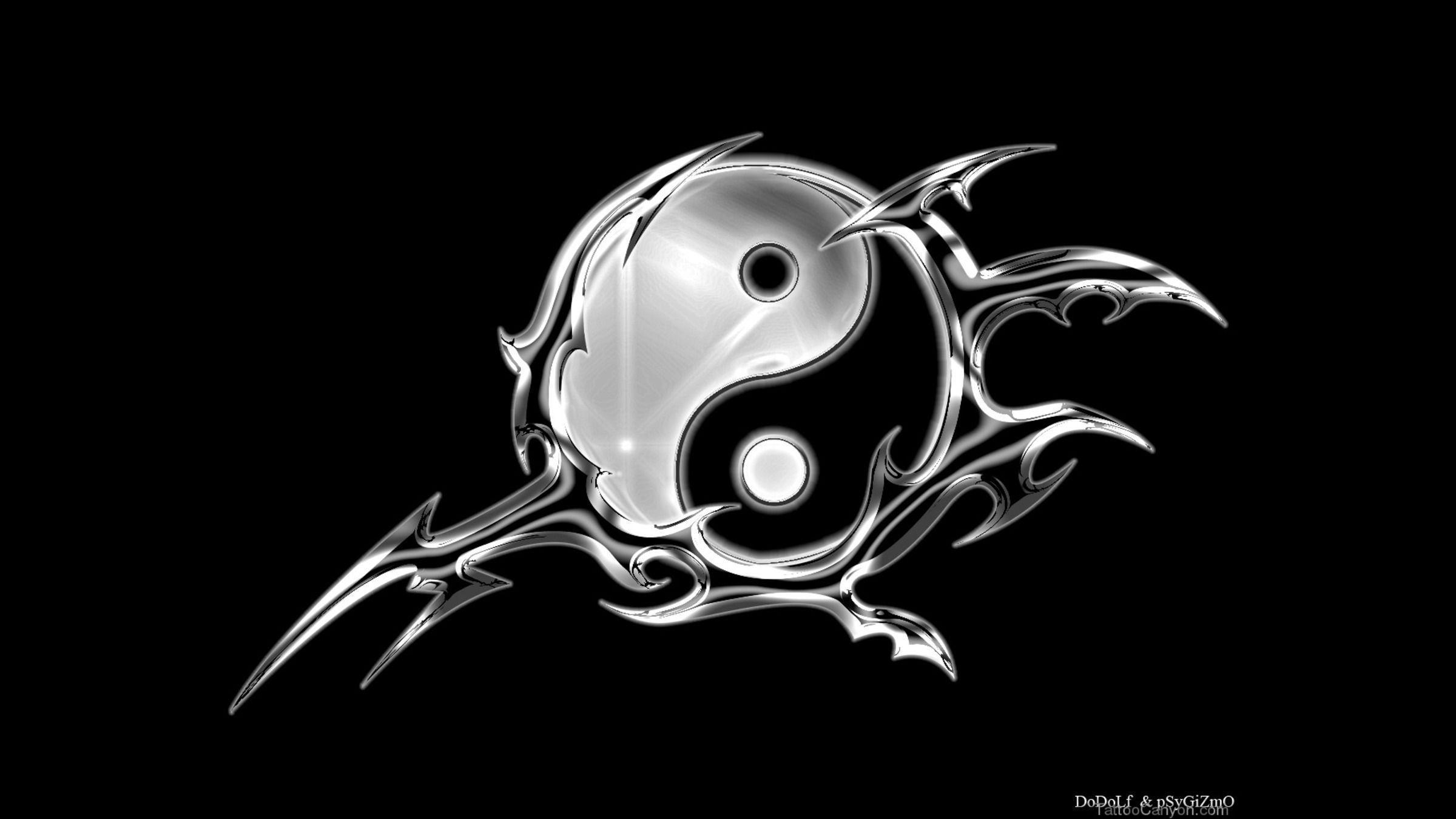 Yin Yang Tattoo Designs from our Sixth page