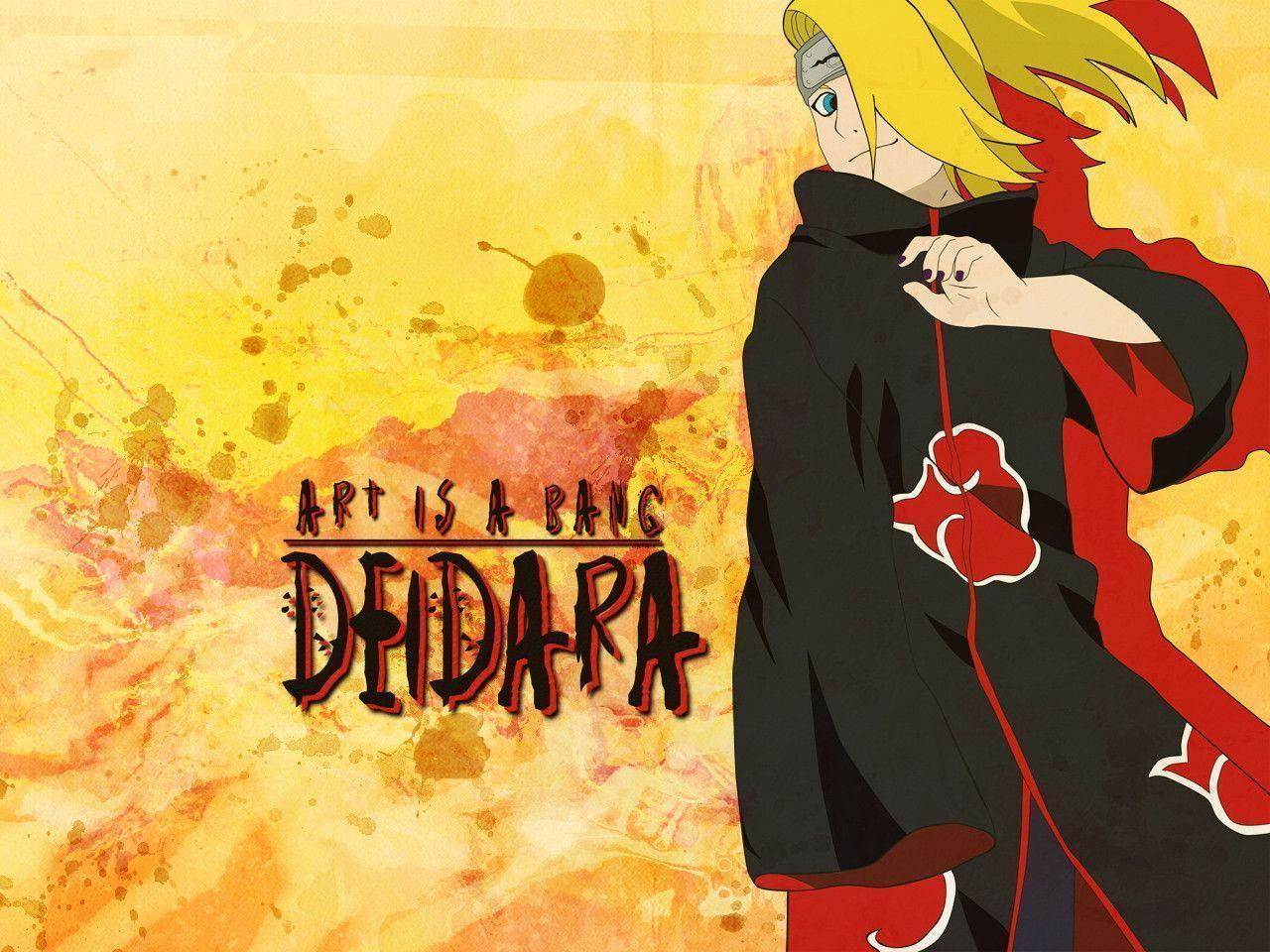 deidara wallpaper by ilacirjr - photo #19