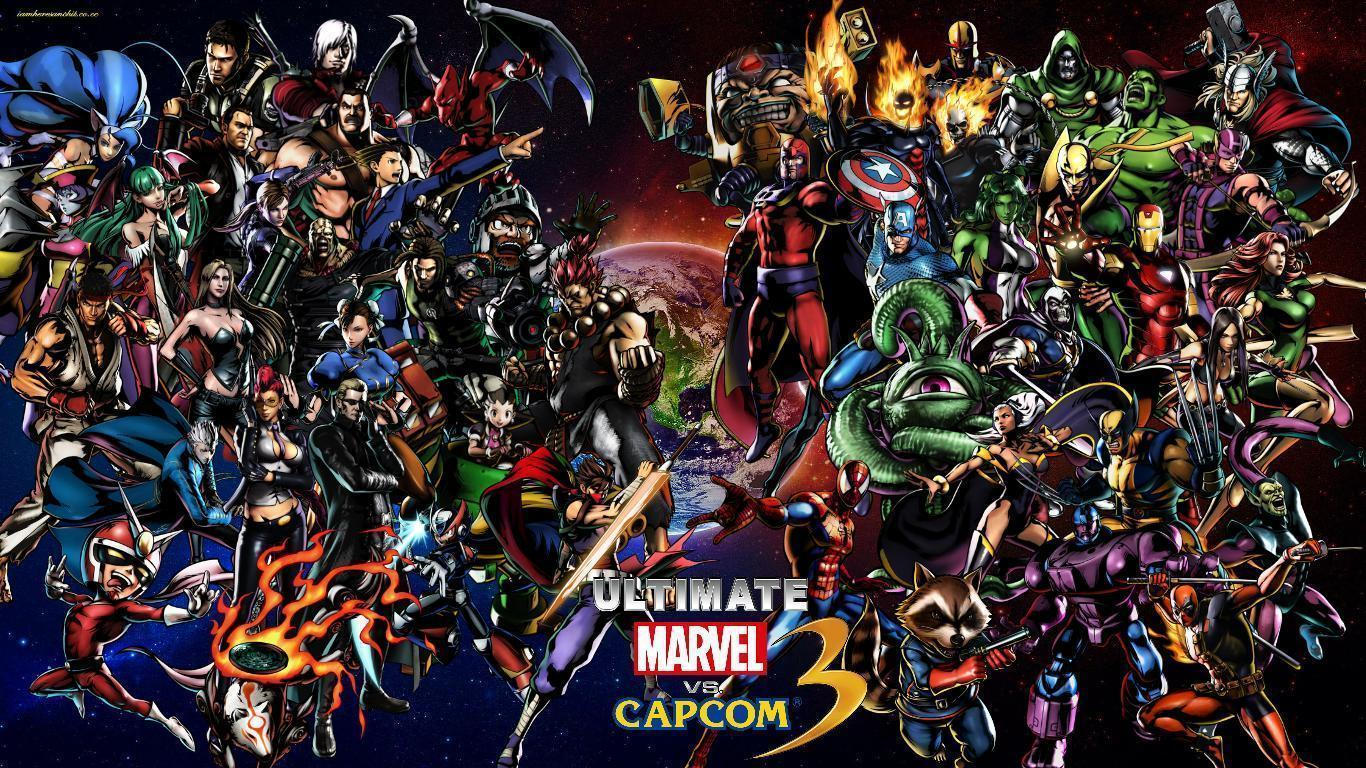 Ultimate Marvel vs Capcom 3 cast Wallpapers by bxb