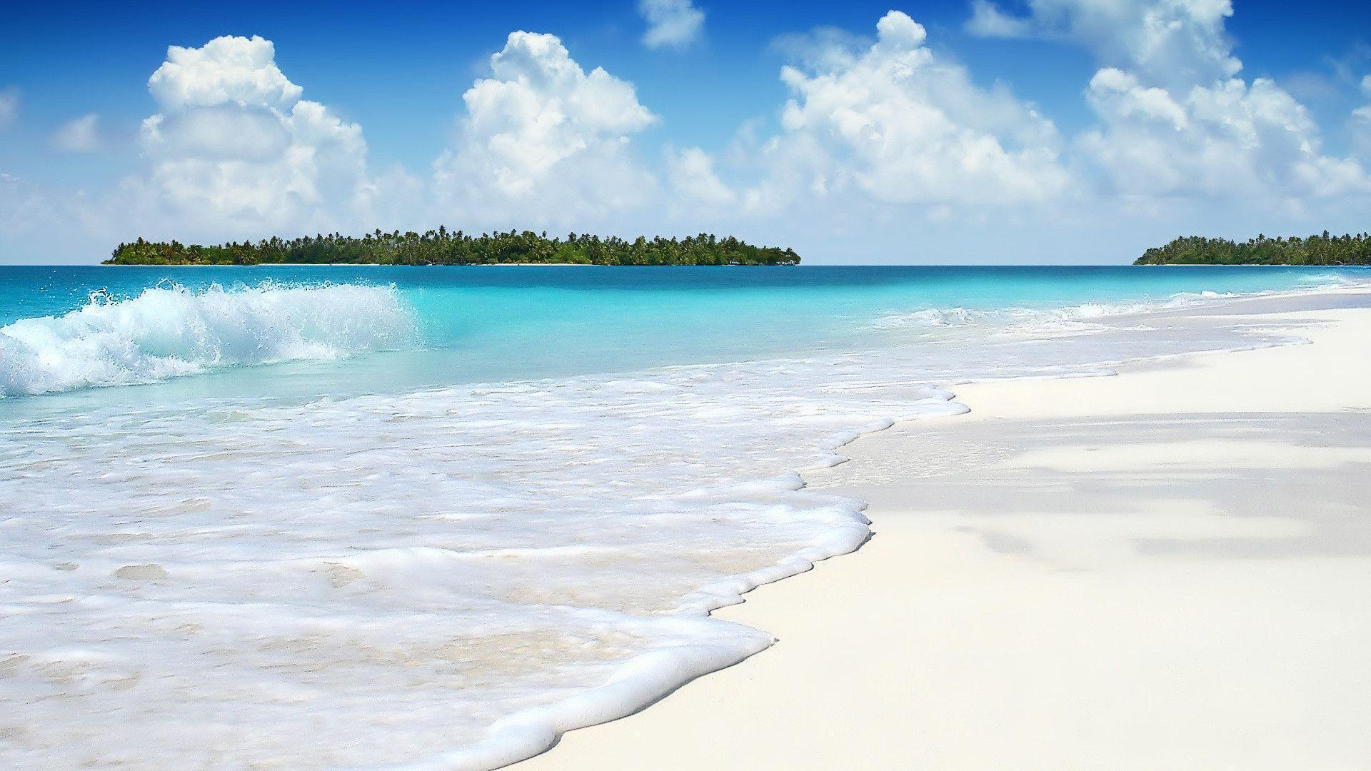 Tropical Island Beach Ambience Sound: 3D Beach Wallpapers