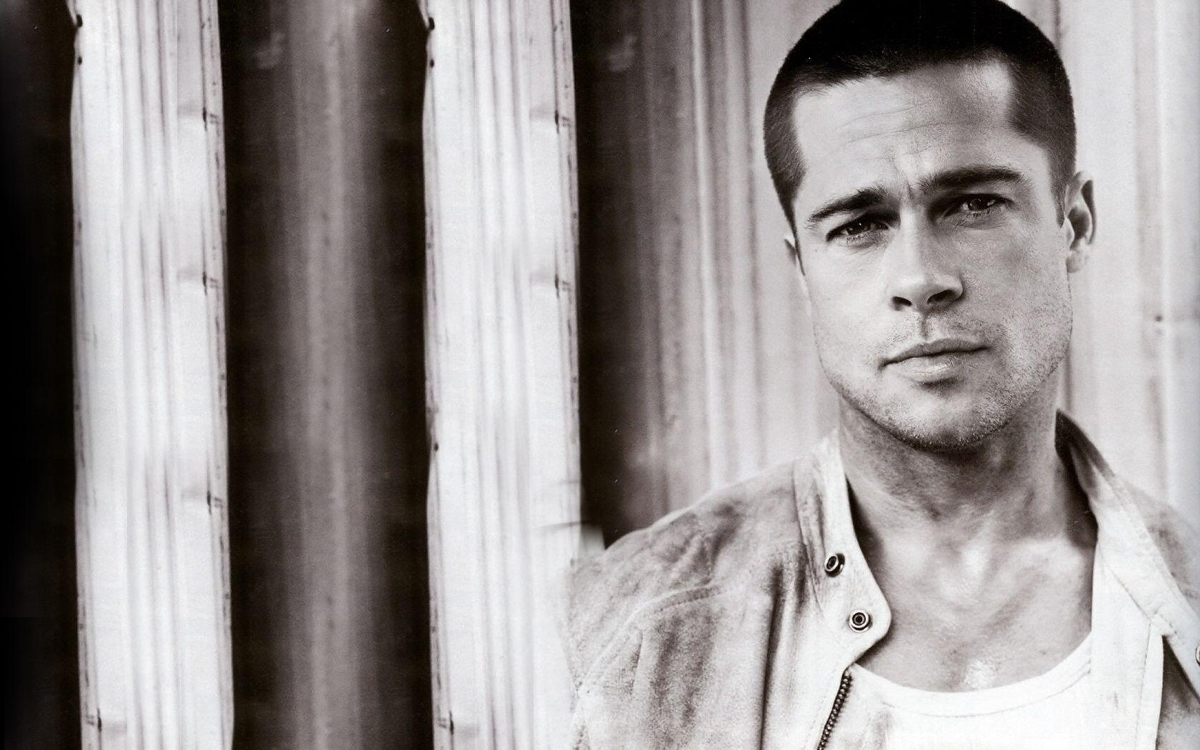 Brad Pitt High Quality Wallpaper - Celebrities Powericare.