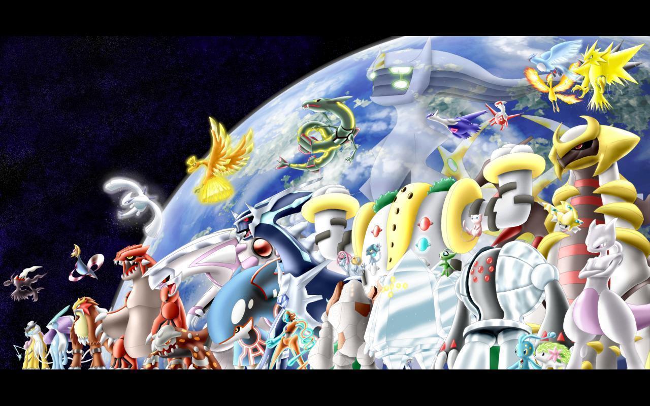 Pokemon wallpapers rayquaza wallpaper cave - All legendary pokemon background ...