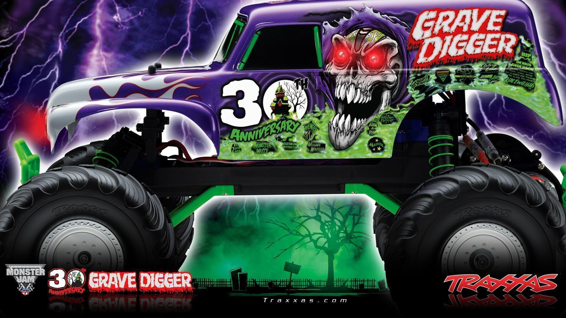 Grave Digger Wallpapers - Wallpaper Cave