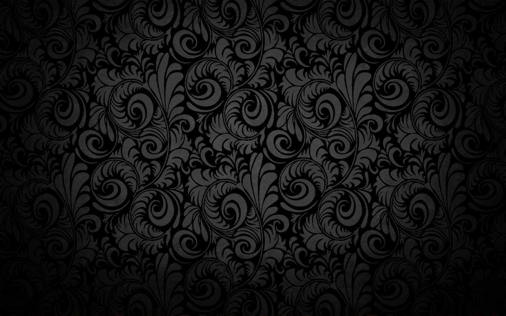 black pattern phone wallpaper - photo #26