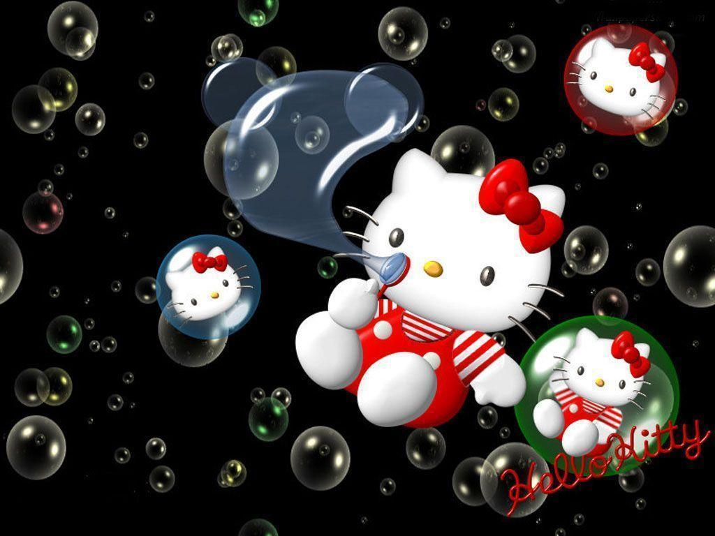 Hello Kitty Wallpapers and Backgrounds - w8themes