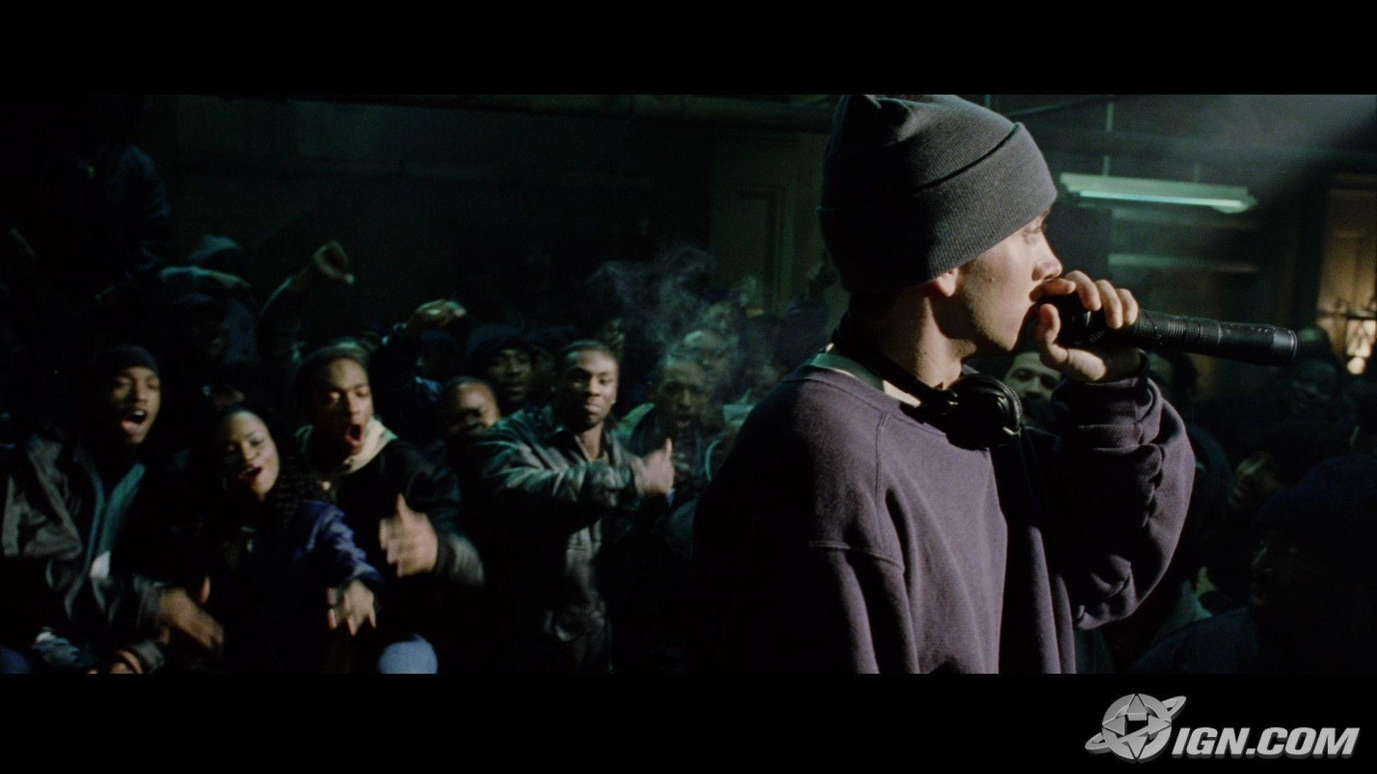 Themes of violence and hatred in eminems music