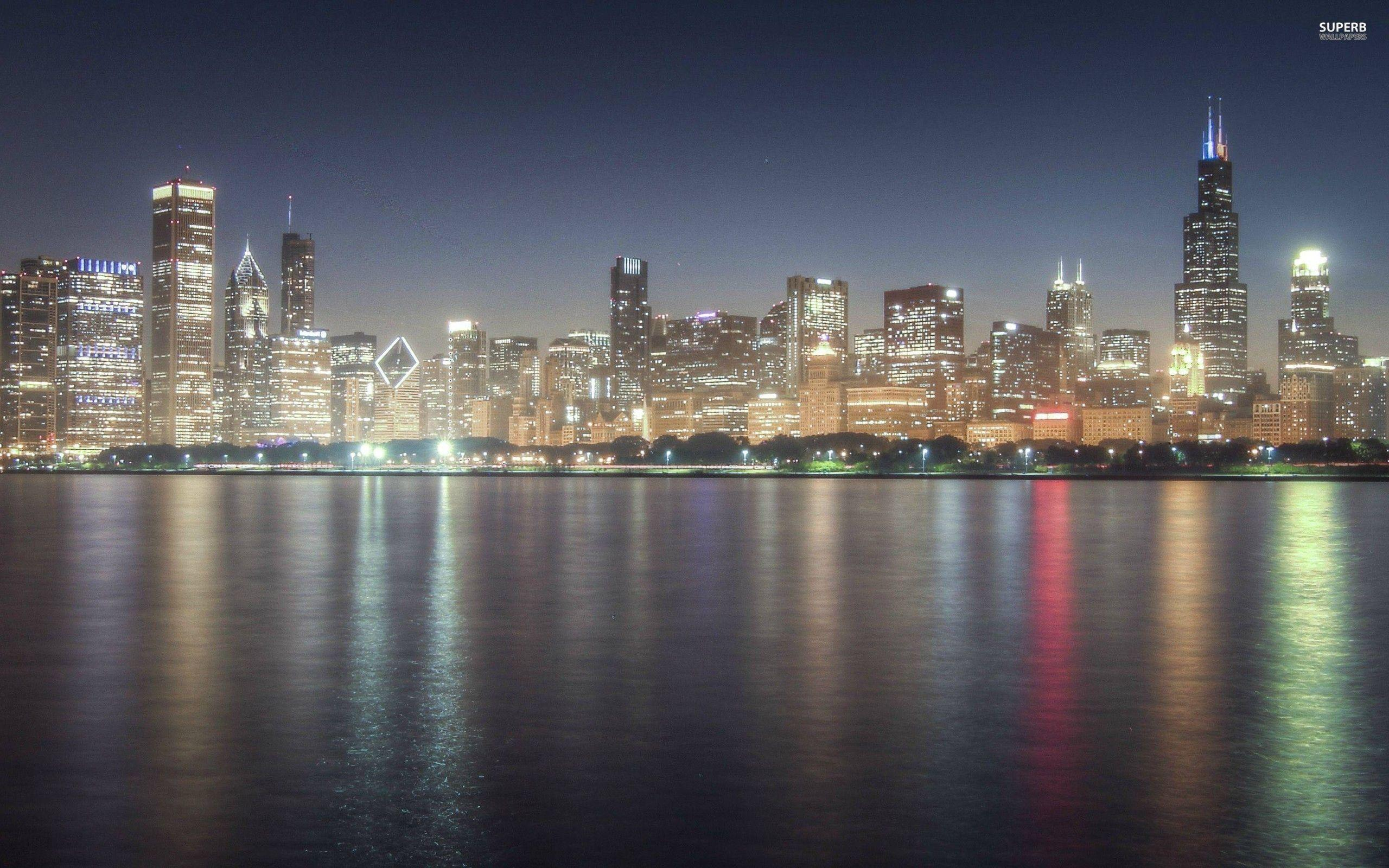 chicago skyline wallpapers wallpaper cave