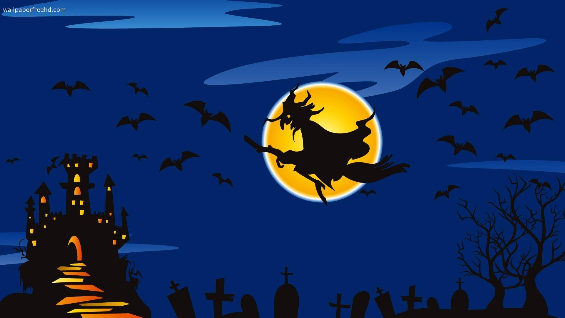 Halloween Witch Wallpapers - Wallpaper Cave