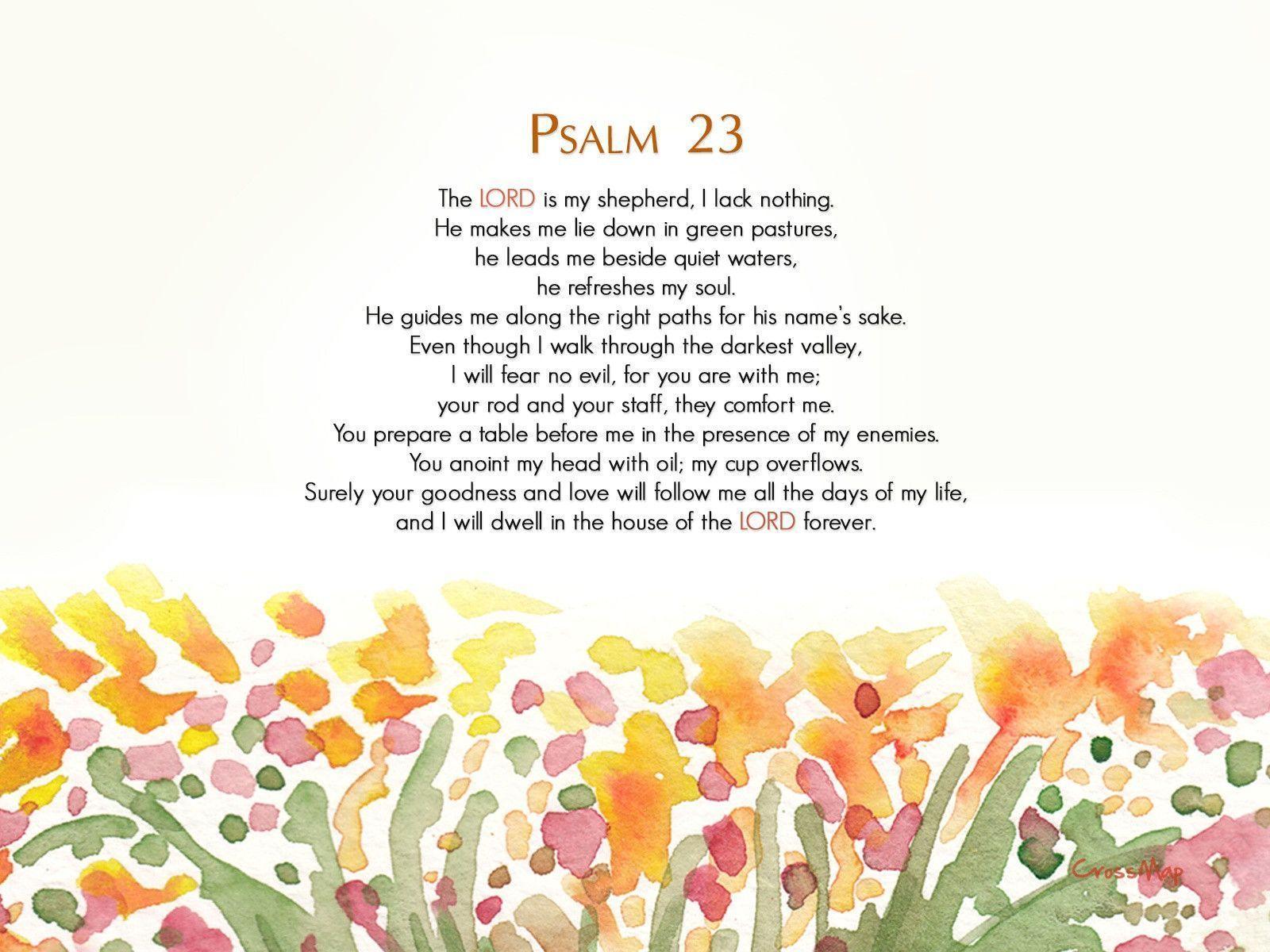 christian wallpaper psalms - photo #37