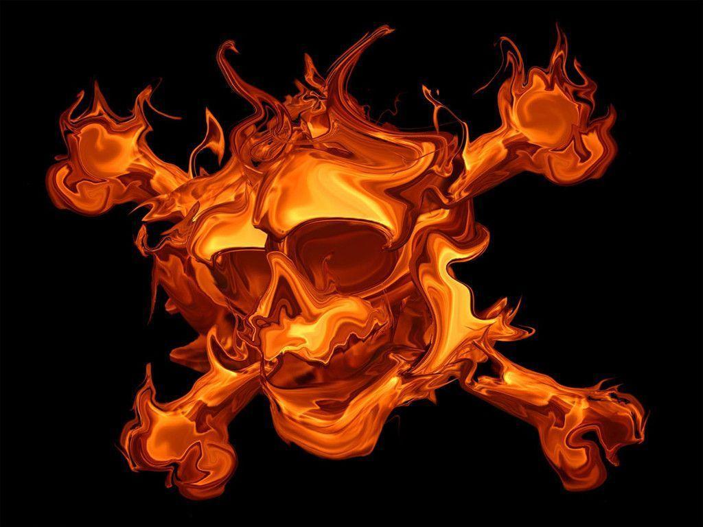 monster skull black wallpaper - photo #8