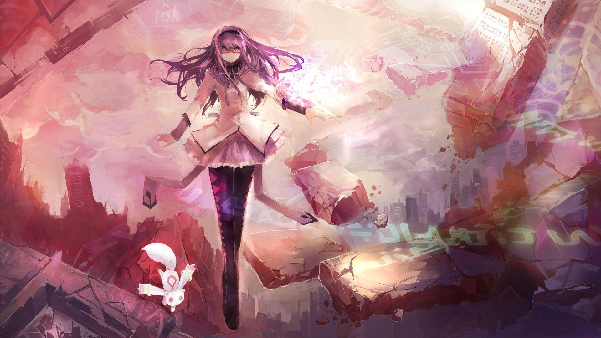 Love Zone Wallpaper : Madoka Magica Wallpapers - Wallpaper cave