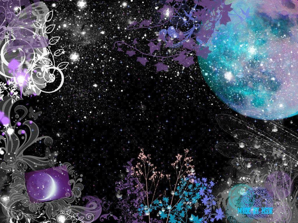 Moon And Stars Backgrounds Wallpaper Cave