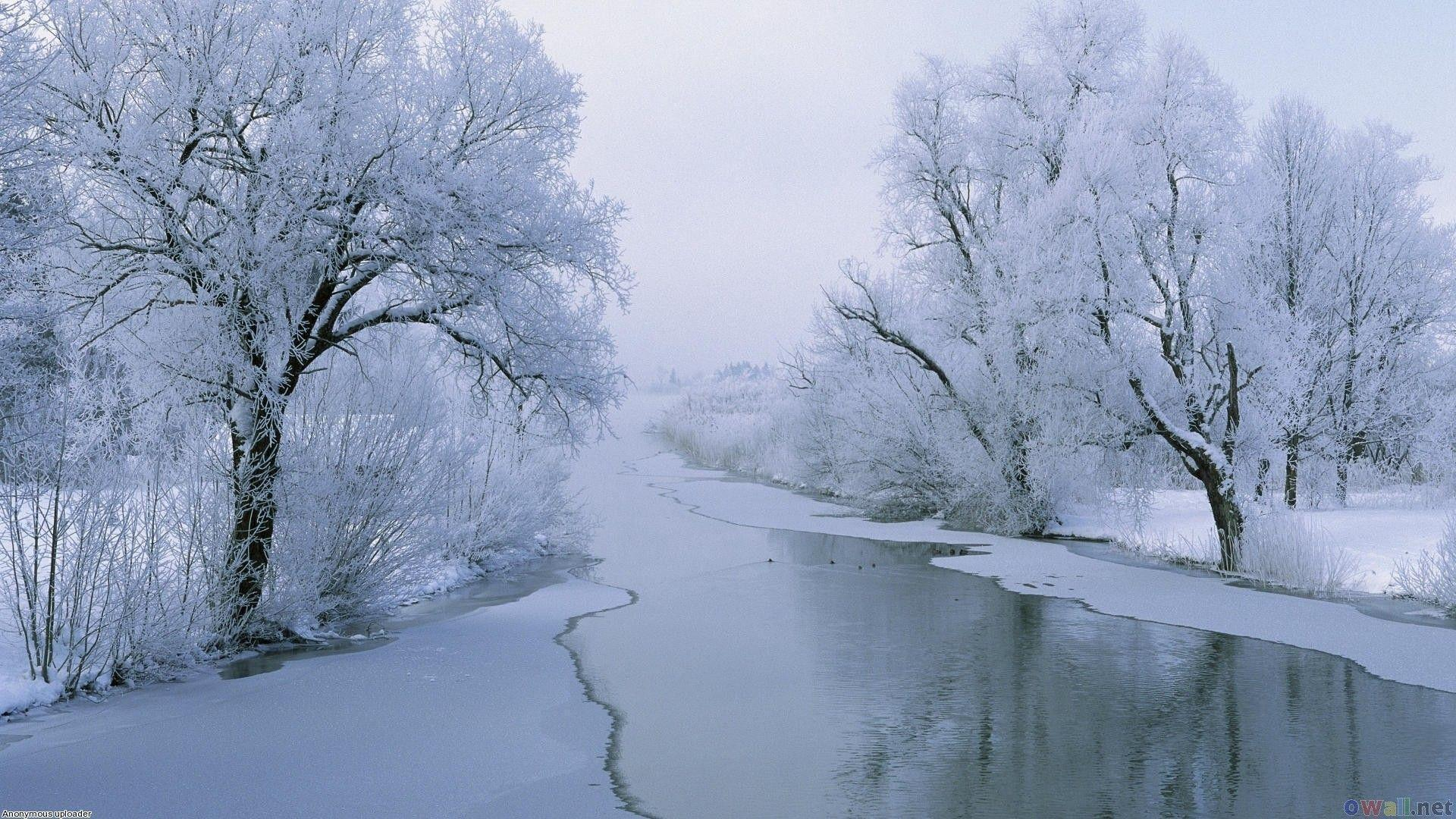 Wonderful White River Winter Wallpaper HD #12577 Wallpaper ...