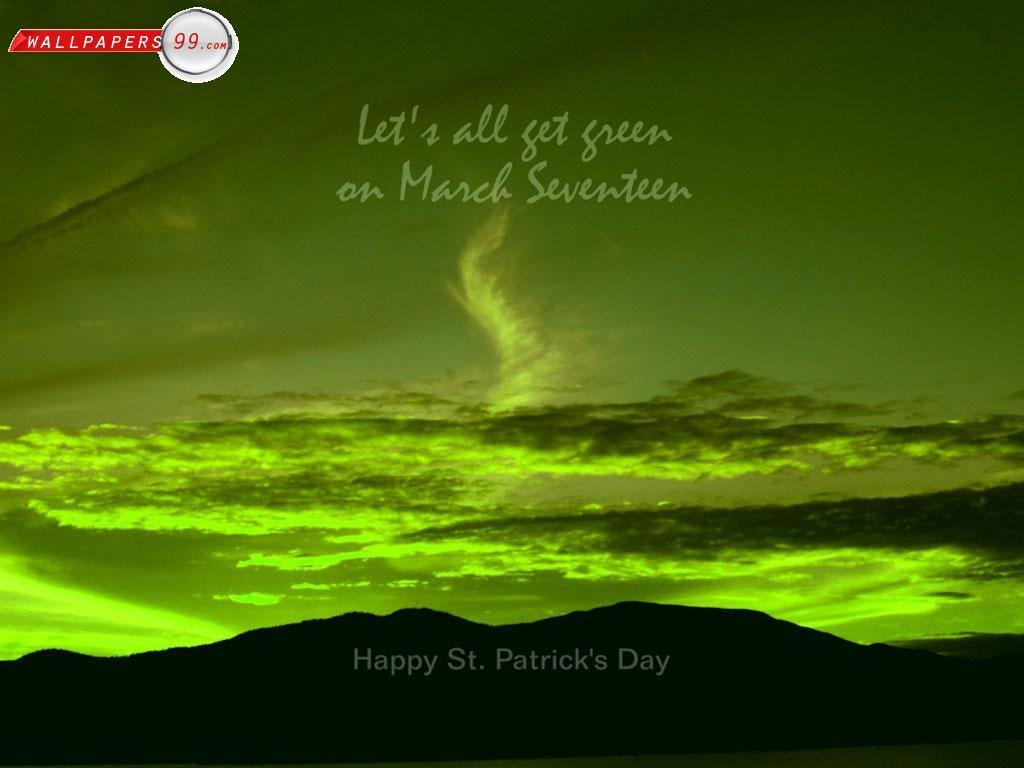 simple st patrick wallpaper - photo #28