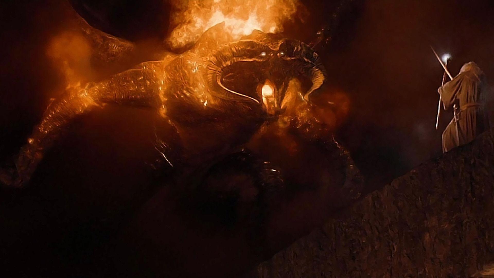 Balrog vs Gandalf Zoom Background