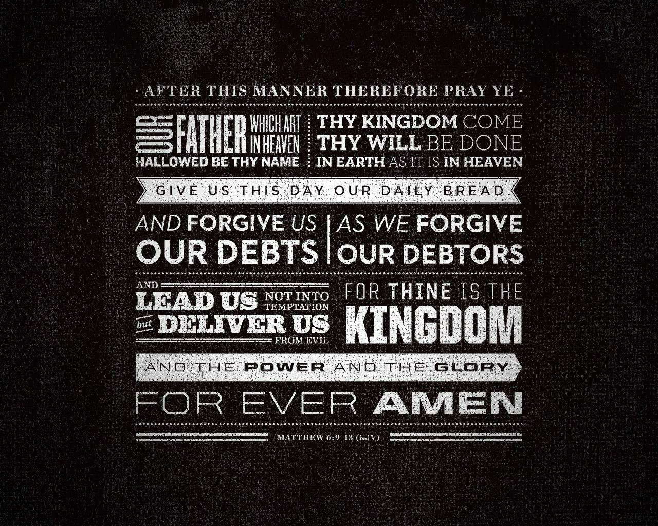 Image For > Lords Prayer Wallpapers