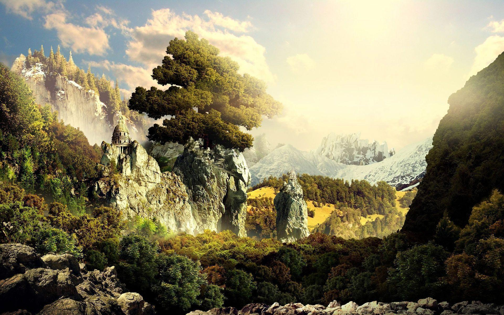 Epic Wallpapers Hd: Fantasy Landscape Wallpapers