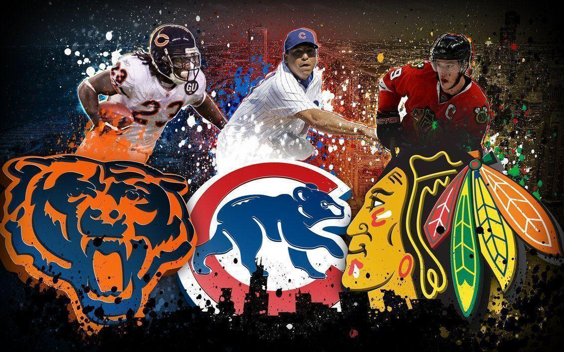 Chicago Sports Wallpaper By Orangeillini14 On DeviantArt