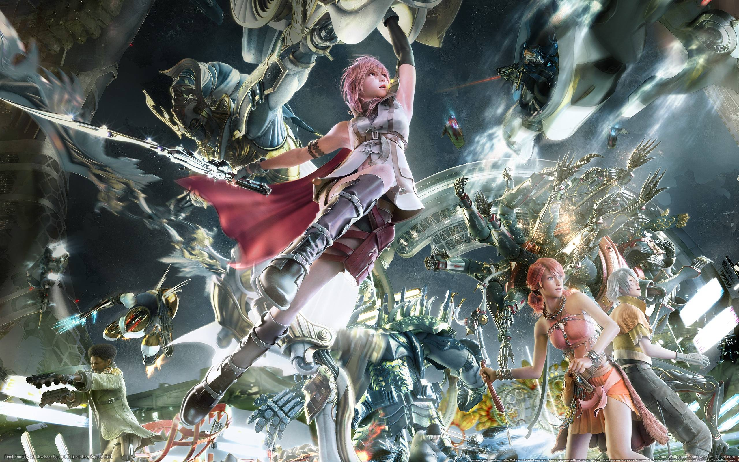 lightning final fantasy wallpapers wallpaper cave