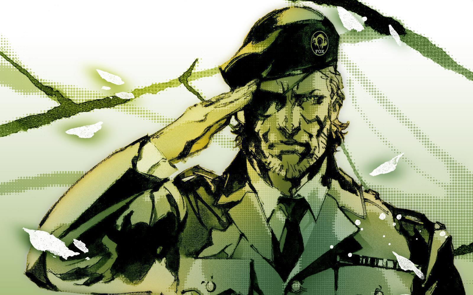 solid snake wallpapers wallpaper cave