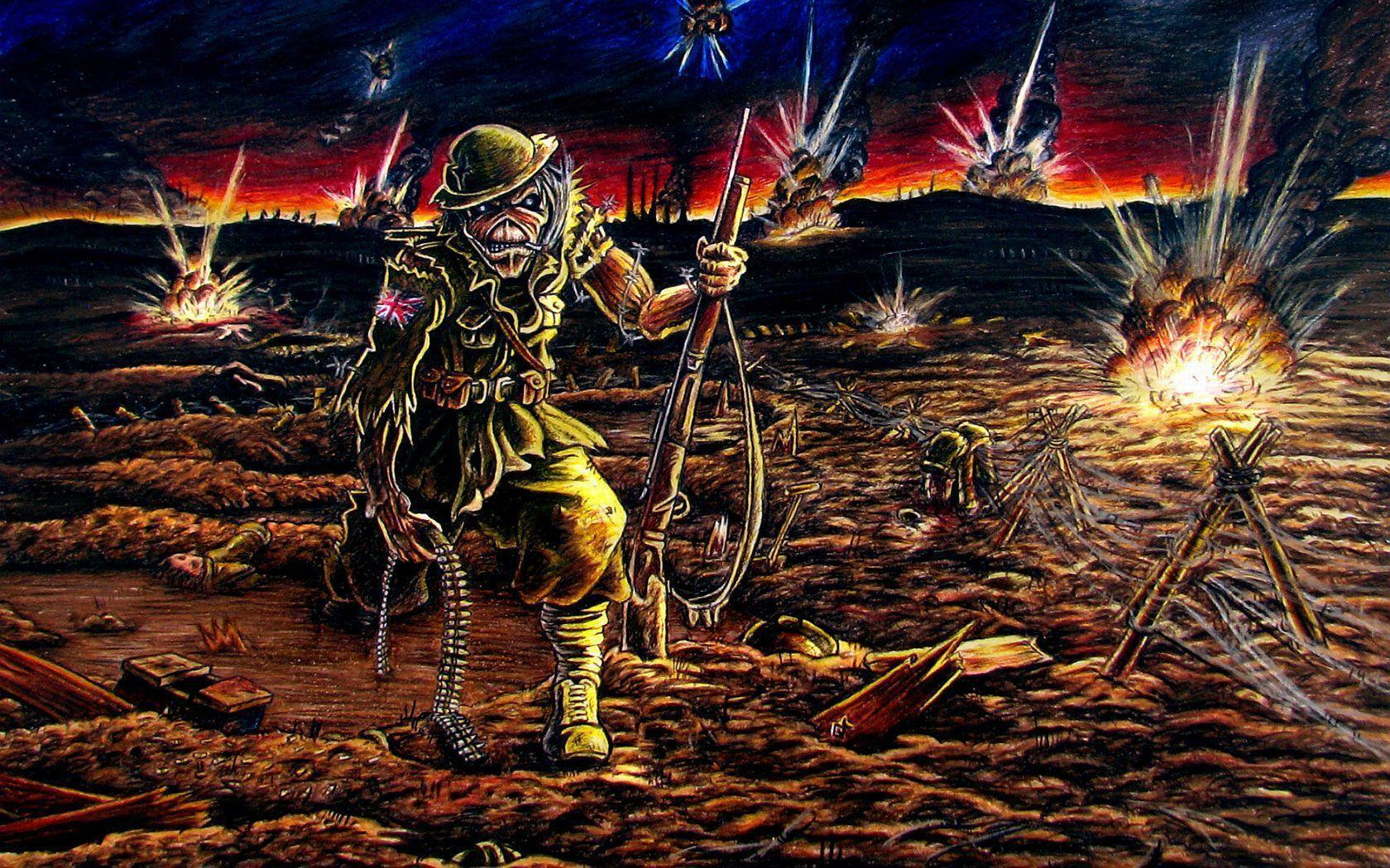 iron maiden wallpapers covers - photo #26