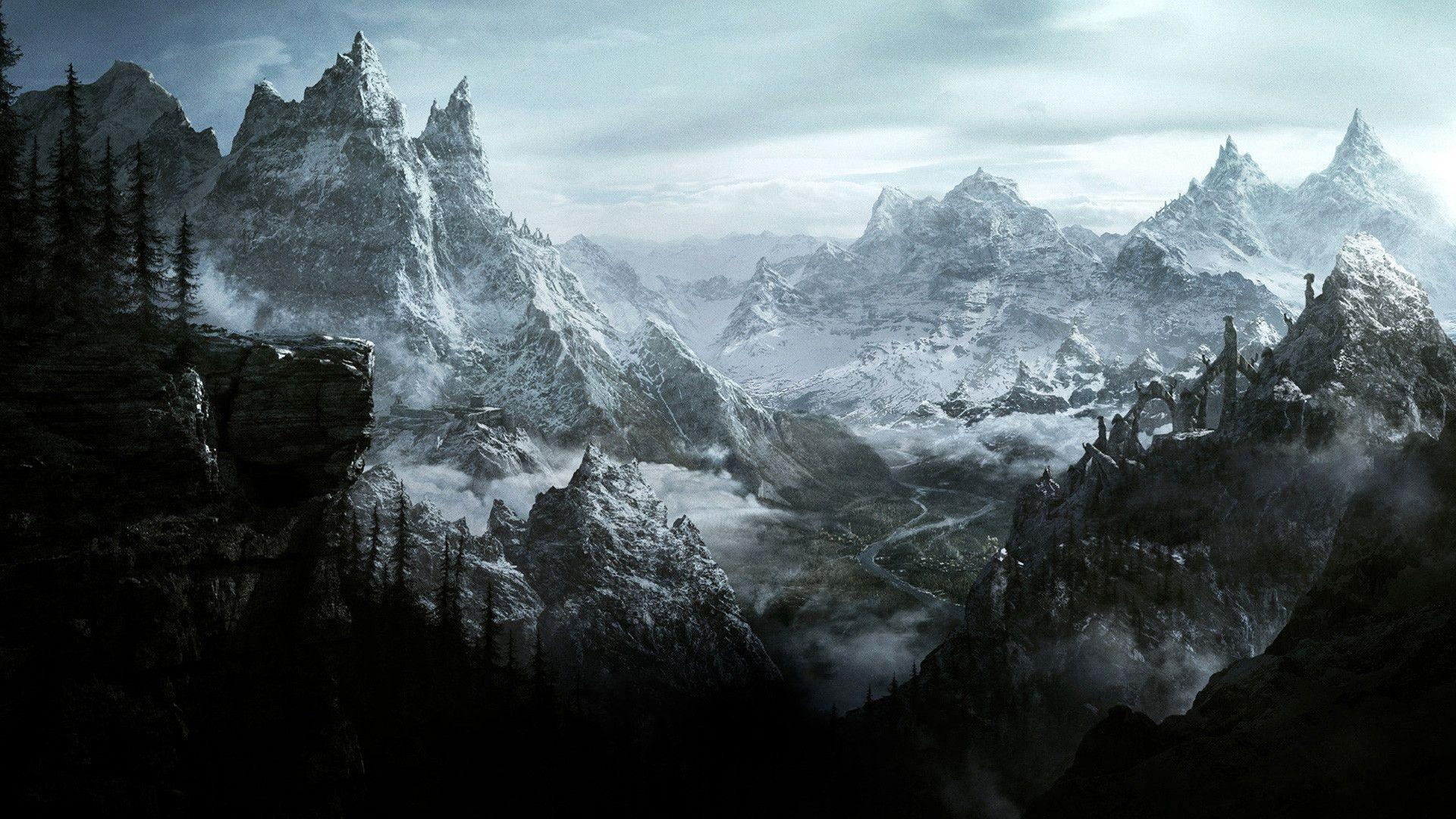 skyrim 1980 x 1040 wallpaper - photo #16