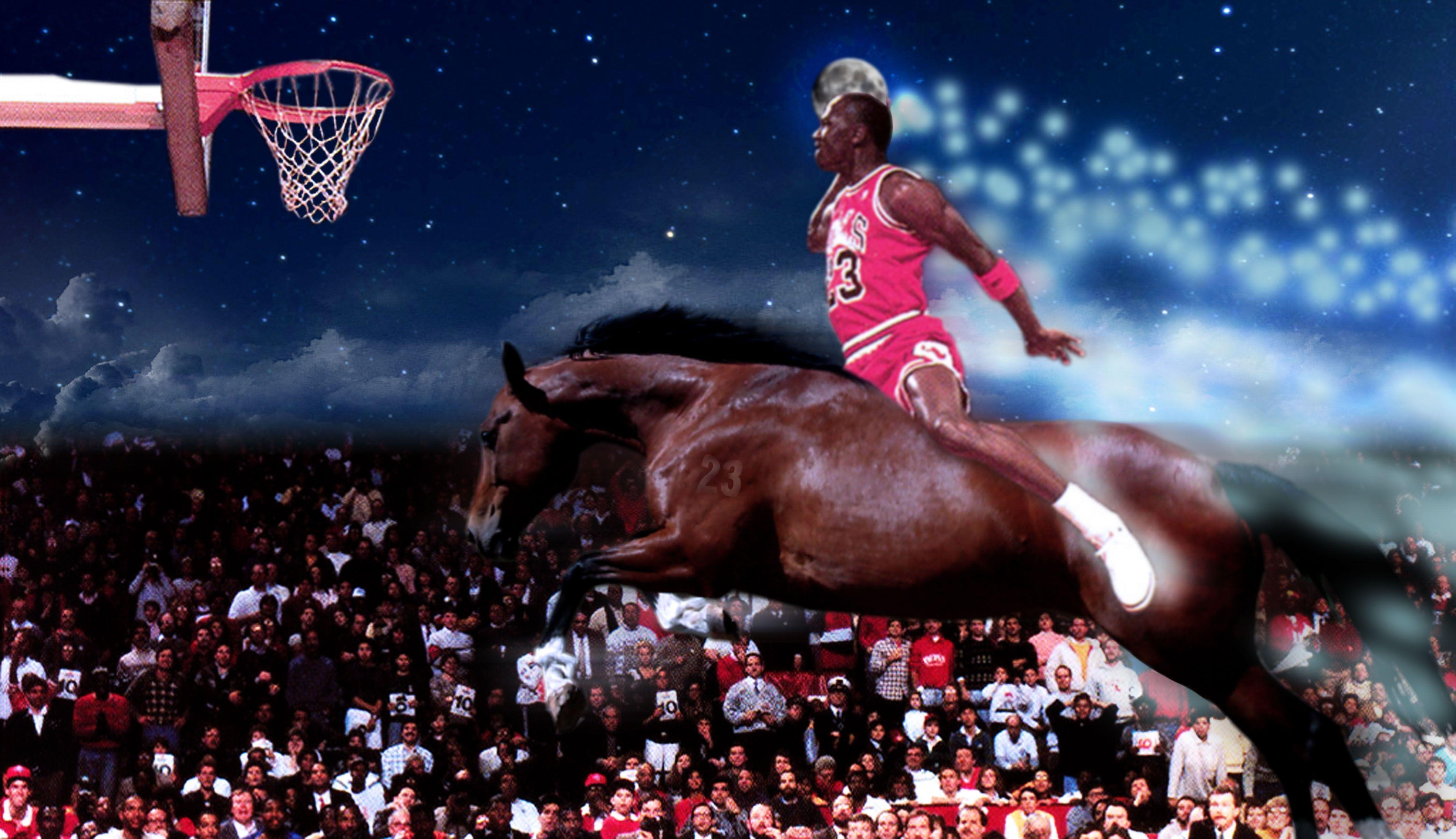 Michael Jordan Dunk Wa...